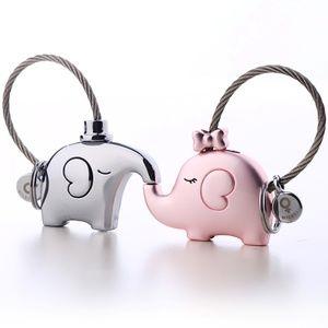 Save the Elephant Love Keychains